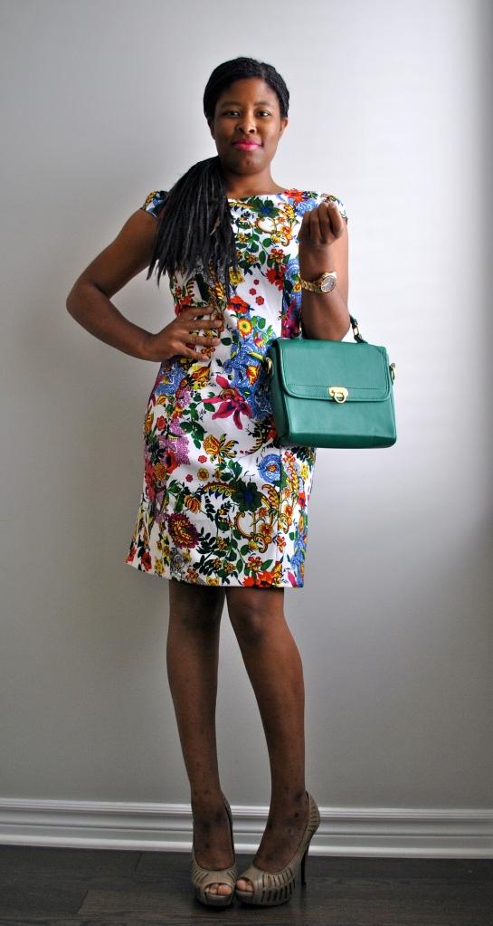 Winners' Floral Shift Dress 5