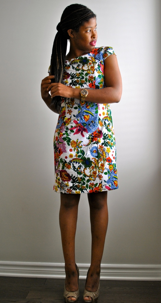 Winners Floral Shift Dress 4
