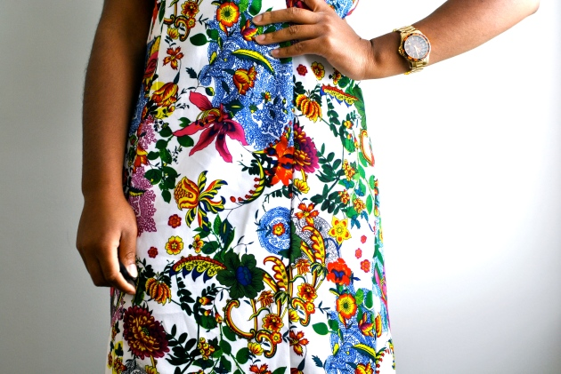 Winners' Floral Shift Dress 1