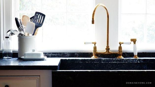 gold faucet 6