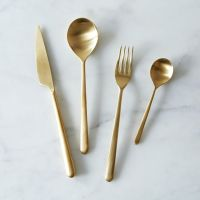 Gold Hardware: Frost Yo Kitchen